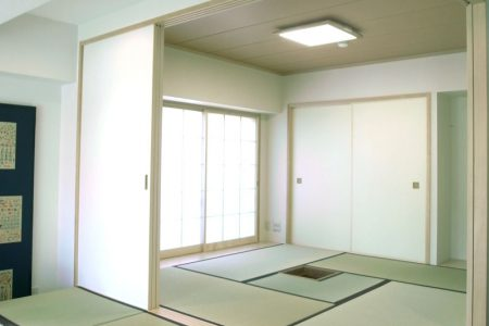 洋室を和室に3